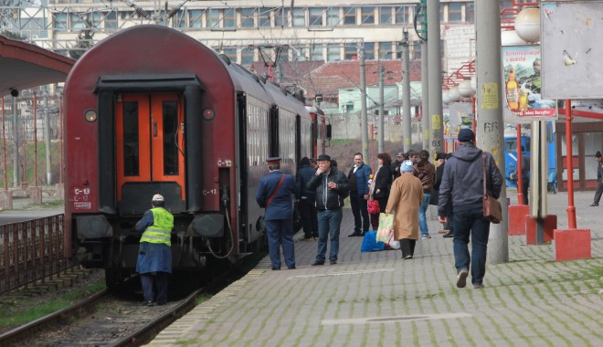Foto: CFR Călători. Modificări temporare în circulația trenurilor, pe ruta Constanța-Mangalia