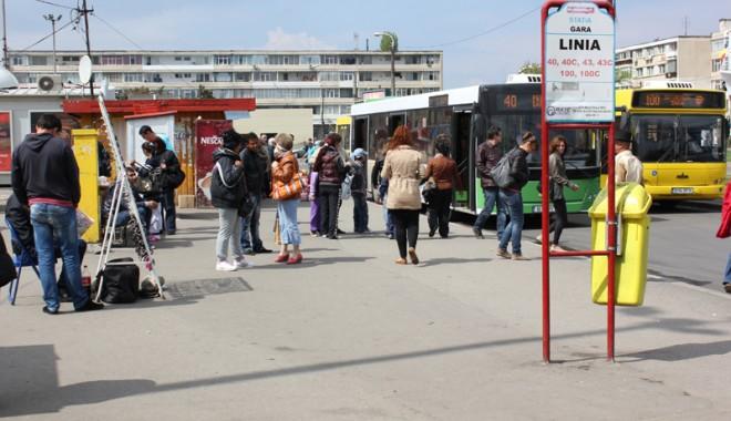 Foto: Gara Constanţa, tărâmul bişniţarilor de ţigări şi al hoţilor din buzunare