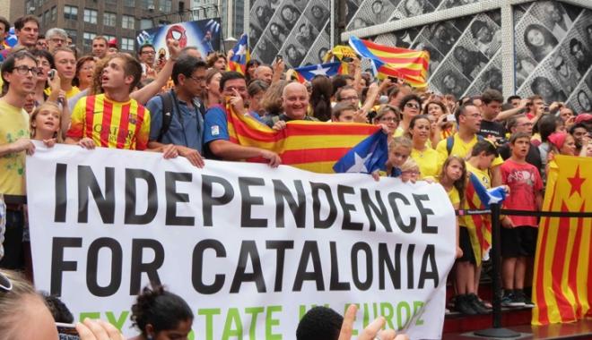 Foto: Garda Civilă a confiscat materiale de propagandă a referendumului din Catalonia