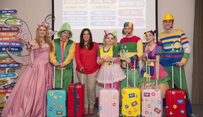 Foto: Gaşca Zurli invită copiii  la cel mai distractiv spectacol al verii