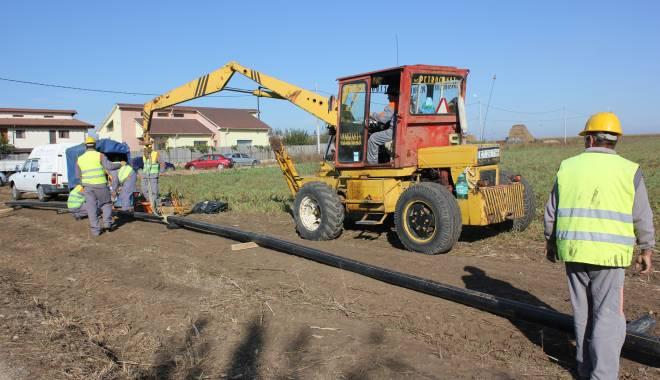 Foto: Primăria Eforie începe lucrările pentru reţeaua de gaze naturale