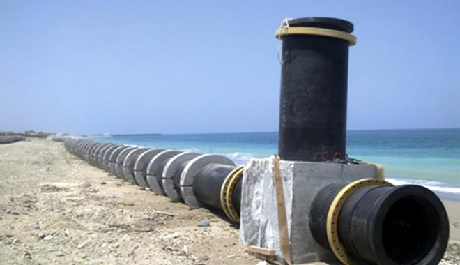 Foto: Constanţa şi Georgia vor fi legate printr-o conductă de gaze submarină, de 1.250 km