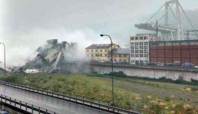Foto: Bilanţul celor decedaţi în tragedia de la Genova crește