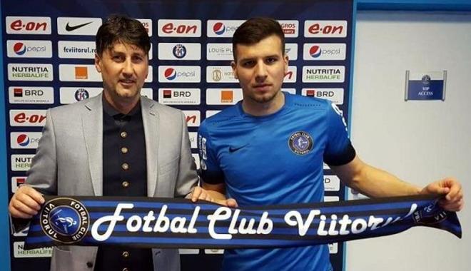 """Foto: George Ţucudean, """"înregimentat"""" oficial de FC Viitorul"""