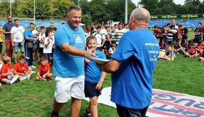 Foto: George Bărgăunaş, noul şef  al arbitrilor de rugby din România
