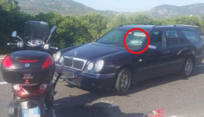 Foto: George Clooney, accident de motocicletă. Primele imagini