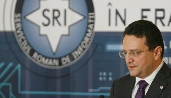 Foto: George Maior propune fuziunea SRI-SIE