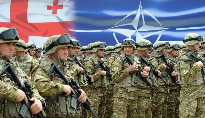 Foto: Georgia şi NATO au lansat un exerciţiu militar comun