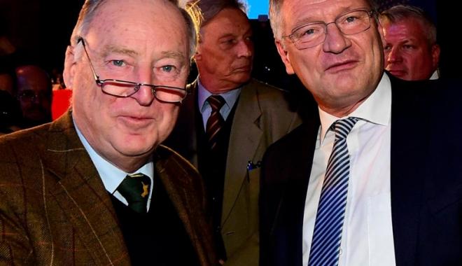 Foto: Germania: Joerg Meuthen şi Alexander Gauland, aleşi copreşedinţi ai formaţiunii Alternativa pentru Germania