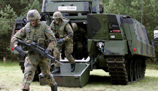 Foto: Germania şi-a majorat semnificativ bugetul apărării