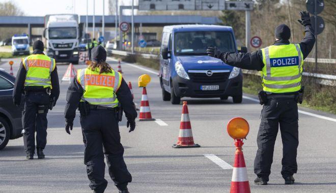 Foto: Germania a început închiderea parțială a frontierelor sale