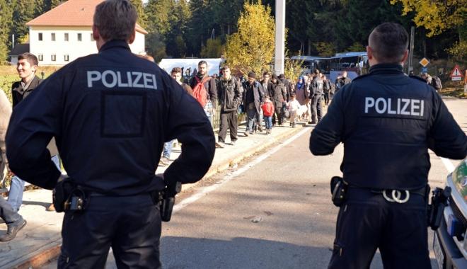 Foto: Controale suplimentare  la frontiere, în Germania