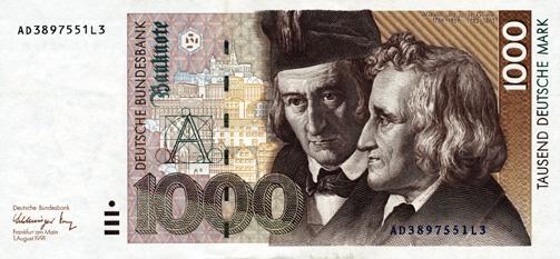 Foto: Nemţii îşi doresc  să renunţe la euro  în favoarea mărcii