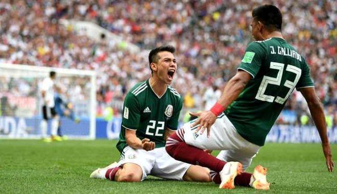 Foto: Surpriză de proporţii: Campiona Mondială Germania a fost învinsă de Mexic
