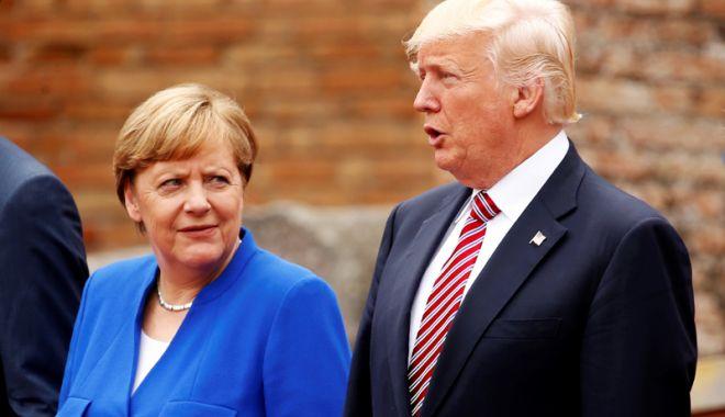 Foto: Germania vrea discuţii comerciale mai ample cu SUA