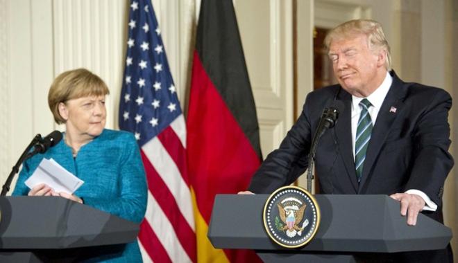 Foto: Germanii îl consideră pe Trump o problemă mai mare decât Coreea de Nord sau Rusia