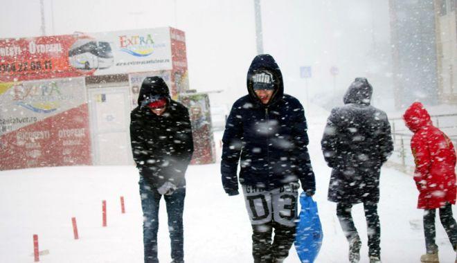 Foto: Record de temperaturi scăzute, pentru această perioadă, la Constanţa