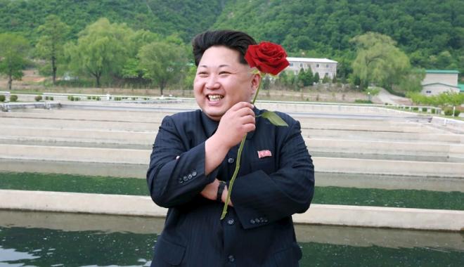 Foto: Gest şocant făcut de Kim Jong Un! Cinci oficiali din Securitate,  executaţi cu sânge rece