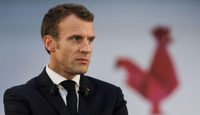 Foto: Emmanuel Macron, mesaj către francezi: Vreau să decretez stare de urgenţă economică şi socială