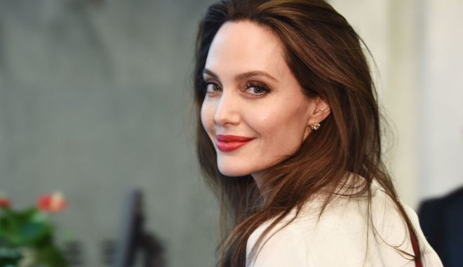 Foto: Angelina Jolie, despre candidatura sa la preşedinţia Statelor Unite