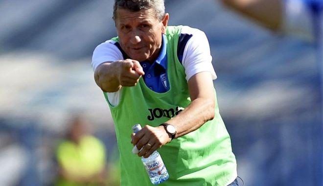 Foto: Gheorghe Mulţescu, noul antrenor al Astrei Giurgiu