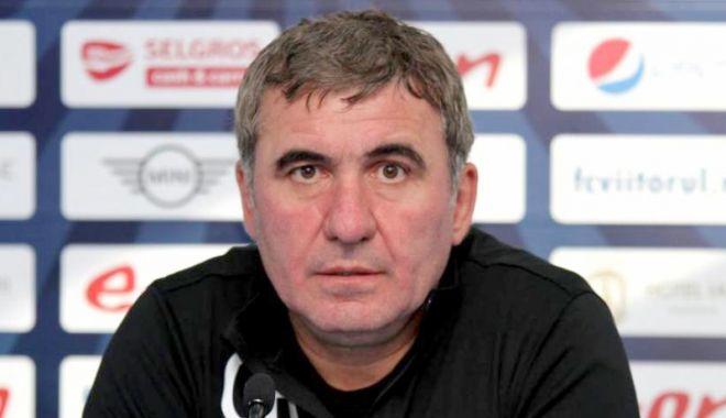 Foto: Gheorghe Hagi, membru al Comisiei pentru fotbal profesionist a FRF