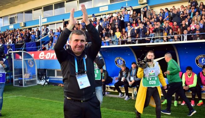 Foto: Gheorghe Hagi, desemnat cel mai bun antrenor român al anului 2017