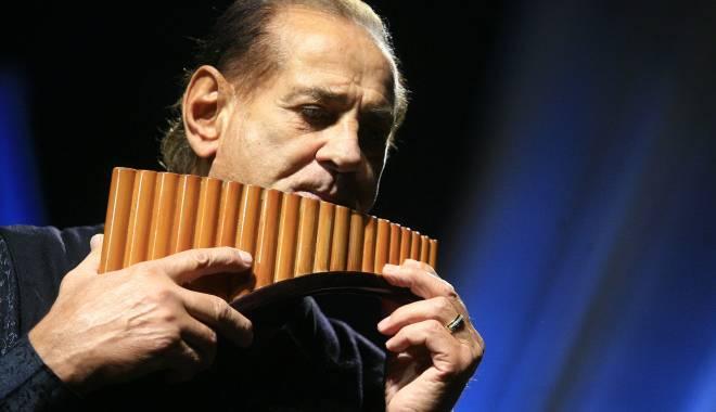 Foto: Concert Gheorghe Zamfir, în Mamaia