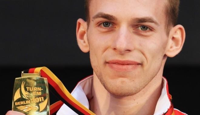 Foto: Flavius Koczi, medalie de aur la sol, la Internaţionalele Franţei