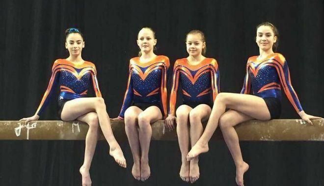 Foto: Gimnastă de la CS Farul, strălucitoare  la Festivalul