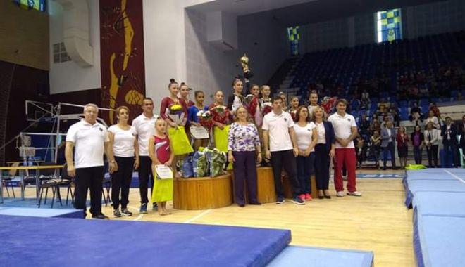 Foto: Gimnasta Silviana Maria Sfiringu,  campioană naţională absolută!