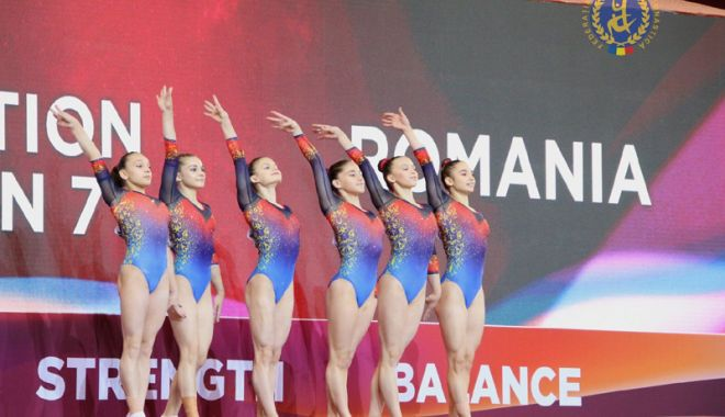 Foto: Gimnastele tricolore s-au calificat  la Campionatul  Mondial 2019