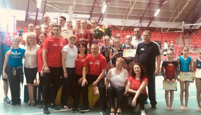 Gimnastele constănţene, performanţe excelente la Naţionalele de juniori - gimnastele1-1528904562.jpg