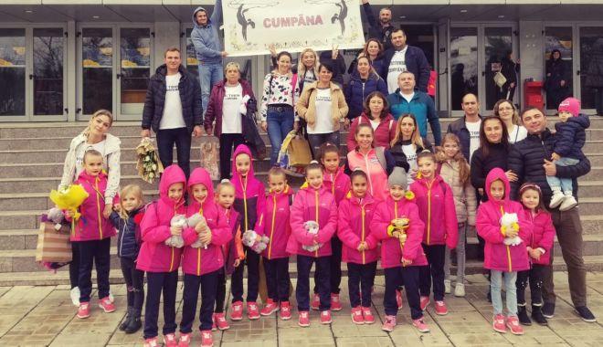 Gimnastele de aur din Cumpăna au luat cu asalt podiumul Cupei României - gimnastica-1574197339.jpg