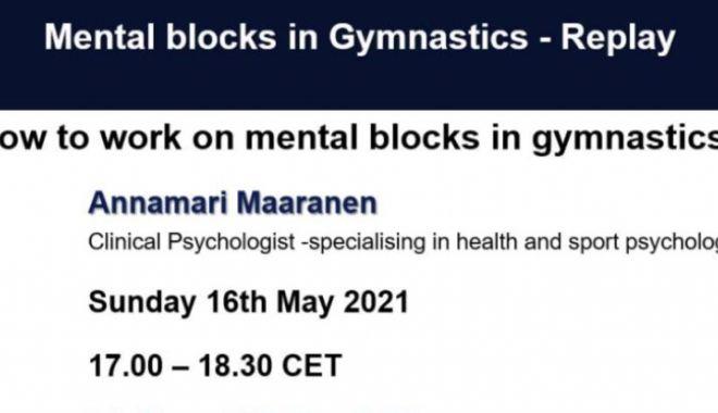 Gimnastică / Blocajul mental, subiectul webinar-ului susținut de Annamari Maaranen - gimnastica-1620820616.jpg