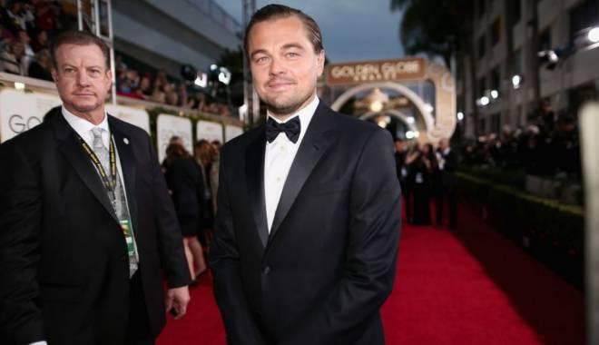 Foto: VIDEO. DiCaprio şi Lady Gaga, moment amuzant la gala Globurilor de Aur