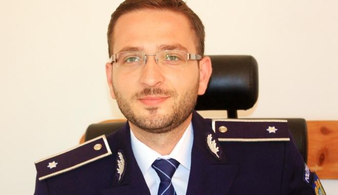 Foto: Subcomisarul George Munteanu, adjunct al şefului Poliţiei din Constanţa cu acte-n regulă