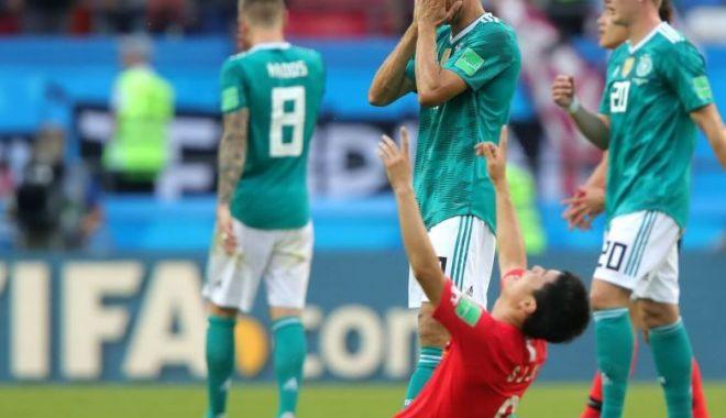 Foto: RUȘINE MONDIALĂ: Germania pierde și cu Coreea de Sud și termină grupa pe ultimul loc!