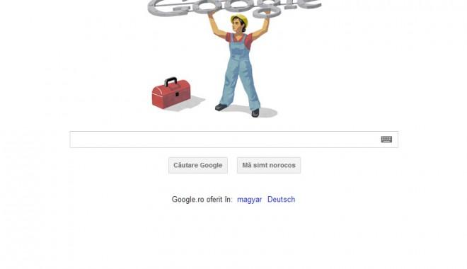 Foto: Google sărbătorește 1 Mai!