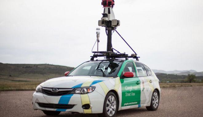 Foto: Google Street View actualizează harta digitală a României