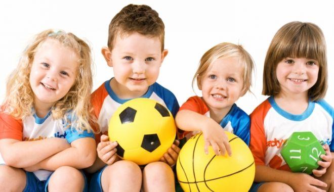Foto: Finanţarea pentru grădiniţele cu profil sportiv va începe din acest an