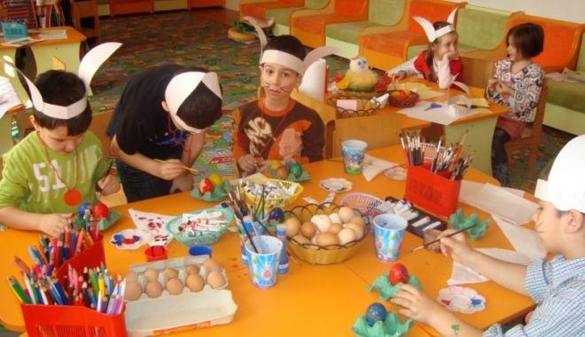 Foto: Acțiune caritabilă la Grădinița nr.45 din Constanța