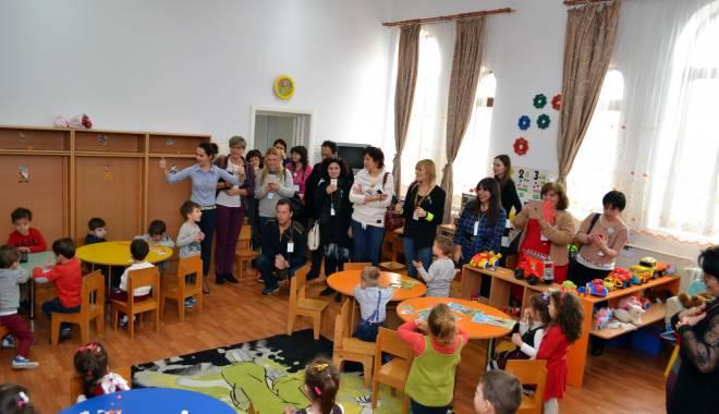 """Foto: Program Erasmus la Grădiniţa """"Perluţele Mării"""""""