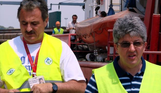Foto: Grave abateri de la legislaţia internaţională pe navele care intră în porturile româneşti