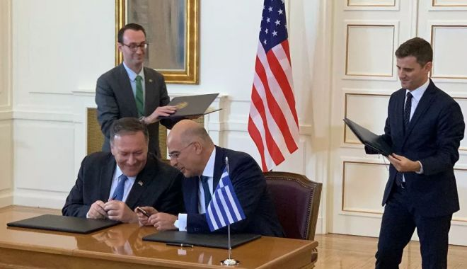 Grecia a ratificat un acord de cooperare militară cu SUA. Proteste la Atena - grecia-1580515563.jpg