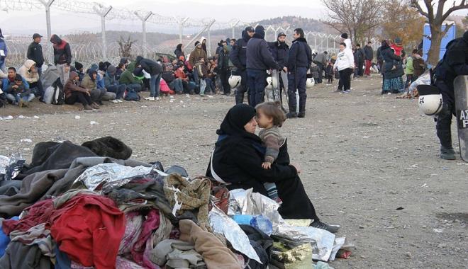 Foto: Grecia, măsură dură împotriva imigranţilor
