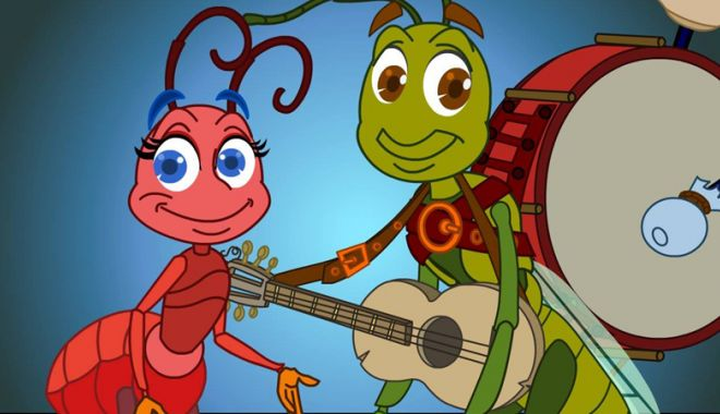 """Foto: Spectacol pentru copii. """"Greierele  şi furnica"""" se joacă la """"Harlequin"""""""