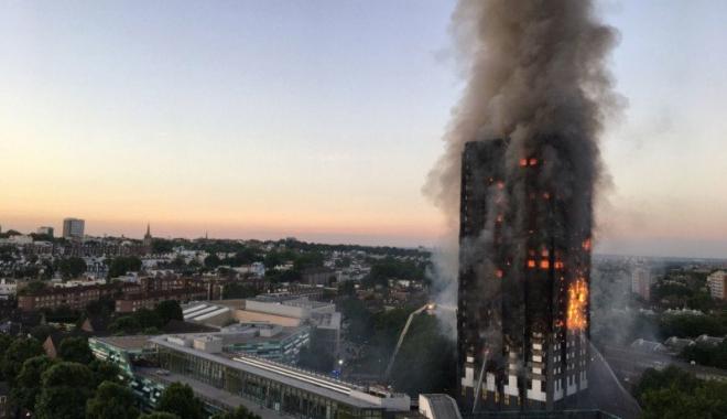 Foto: Este oficial! Iată de la ce a izbucnit iadul de la Grenfell Tower