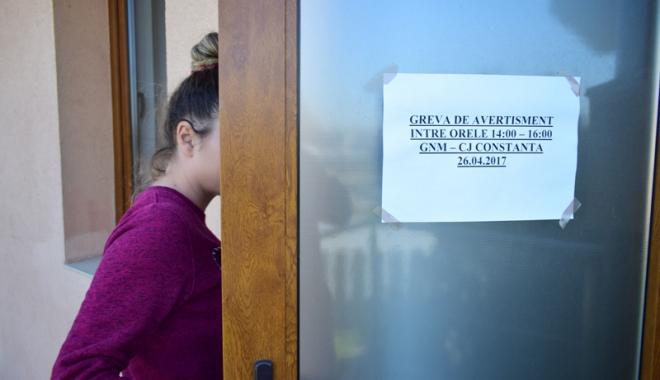 Foto: Grevă generală  pe termen nelimitat, la Garda de Mediu