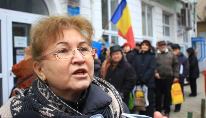 Foto: Grevă la Primăria Constanţa. Protestul a blocat toată instituţia